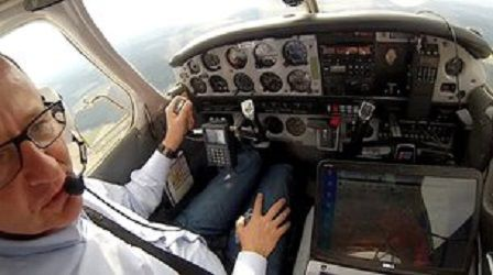 Авиаперелеты станут безопаснее благодаря погодному приложению Satcom