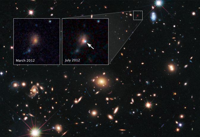 С помощью сверхновых астрономы измерили мощность гравитационных линз