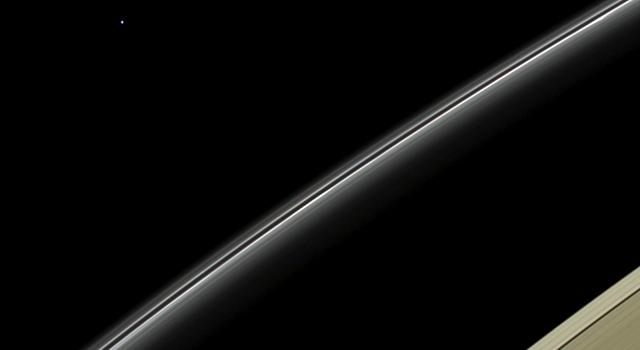 Cassini удалось сделать снимок ледяного гиганта - Урана