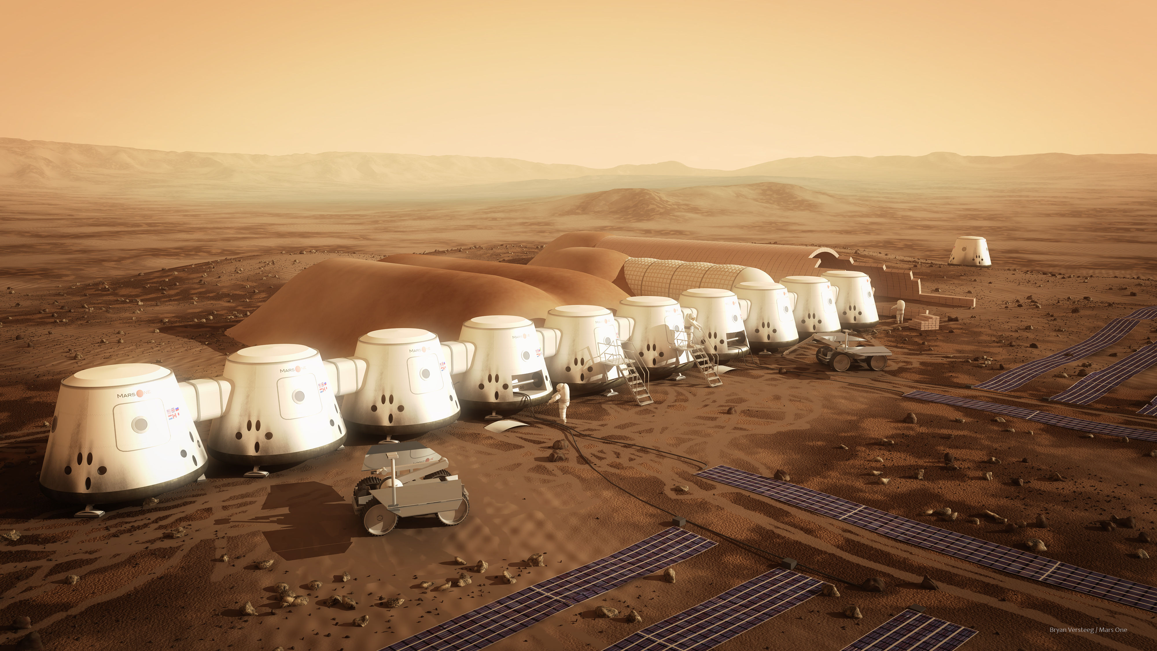 Во втором туре проекта Mars One примут участие 705 кандидатов