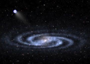 Ученые открыли самую близкую к Земле гиперскоростную звезду
