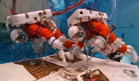 NASA проводит подводные испытания в рамках подготовки к «поимке астероида»