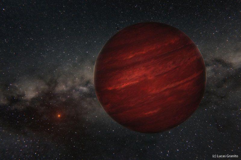 Открыта экзопланета, которая находится на рекордном расстоянии от своей звезды