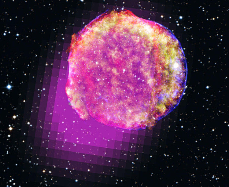 Ученые создали подробную модель взрыва сверхновой