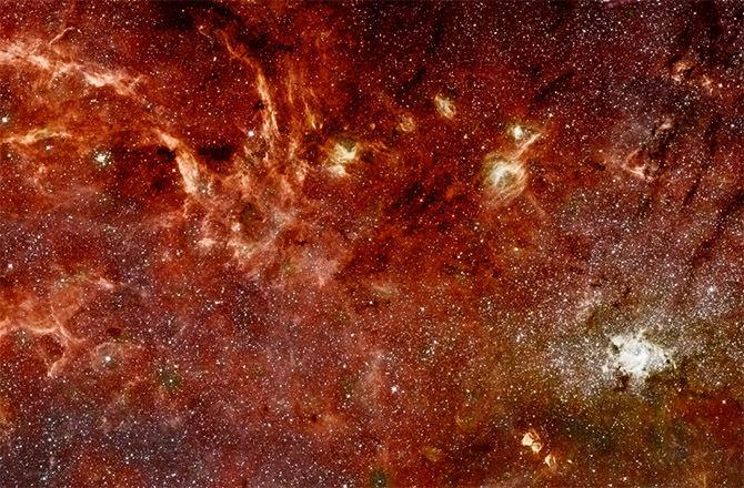 Ученые исследуют причины утолщения диска Млечного Пути