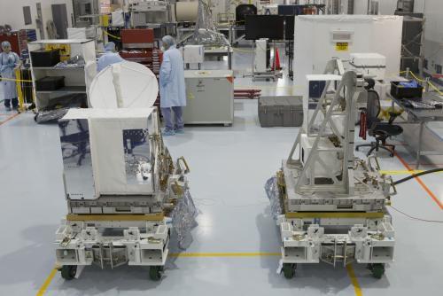 Новейший прибор для наблюдений за ветром прибыл на пусковую площадку NASA