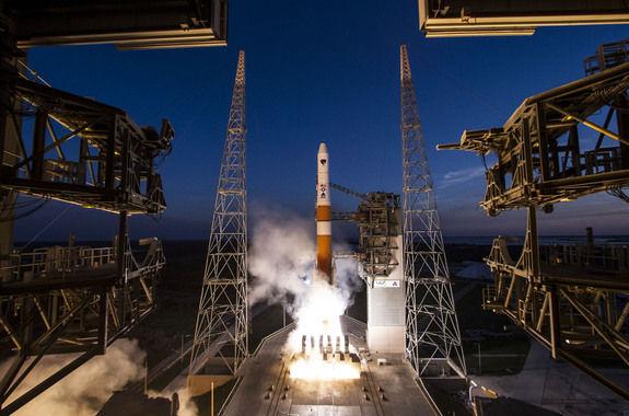 США запустили в космос новый спутник GPS
