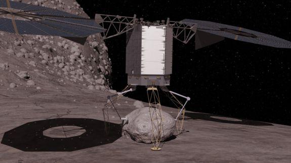 В рамках миссии по поимке астероида испробуют метод защиты Земли от столкновений