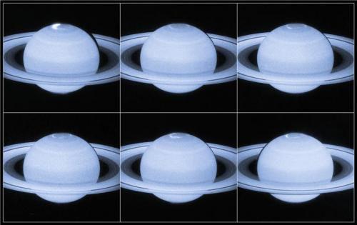 Ученым удалось сделать снимки полярного сияния на Сатурне