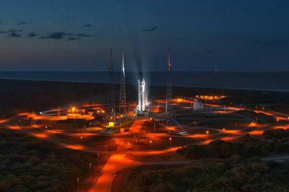 Сегодня состоится запуск ракеты Atlas 5 со шпионским спутником