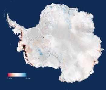CryoSat: Потери ледяного слоя Антрактиды больше, чем считалось ранее