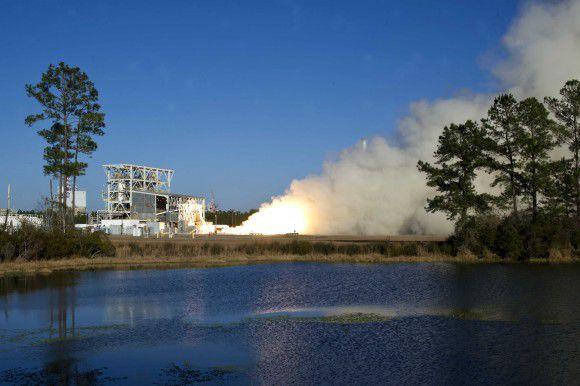 Во время испытаний ракетного двигателя AJ-26 была выявлена неисправность