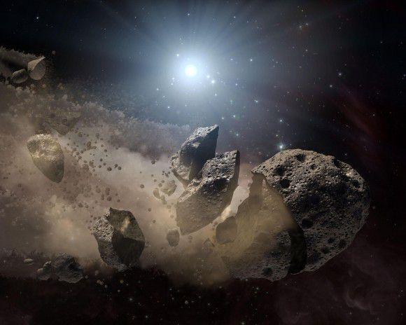 NASA  и Slooh просят помощи любителей в поиске околоземных астероидов