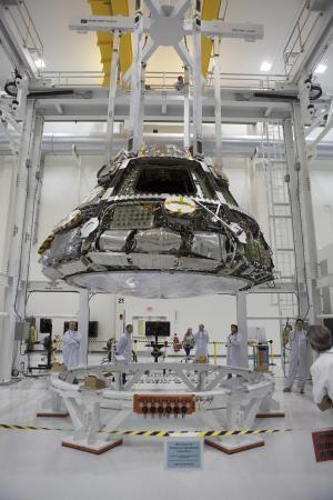 Космический аппарат Orion на стадии финальной сборки