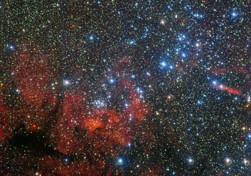 Звездное скопление NGC 3590