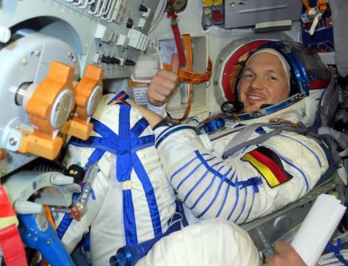 Космонавт и астронавты готовятся к отправке на МКС