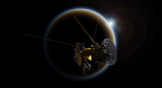 Закаты на Титане рассказывают о сложности туманных экзопланет