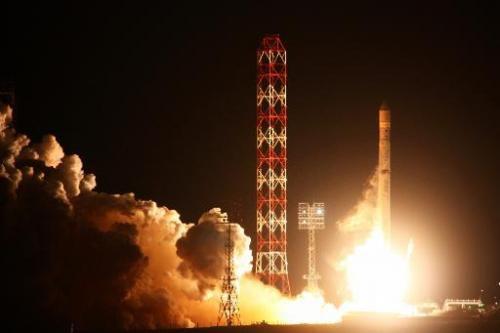 Российская ракета совершила успешный запуск с морской платформы