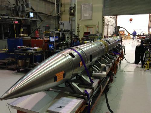 NASA совершило успешный запуск зондирующей ракеты Black Brant IXс прибором CHESS