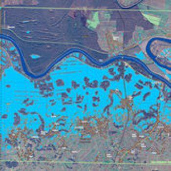 Спутник Sentinel-1A помог составить карту наводнения на Балканах