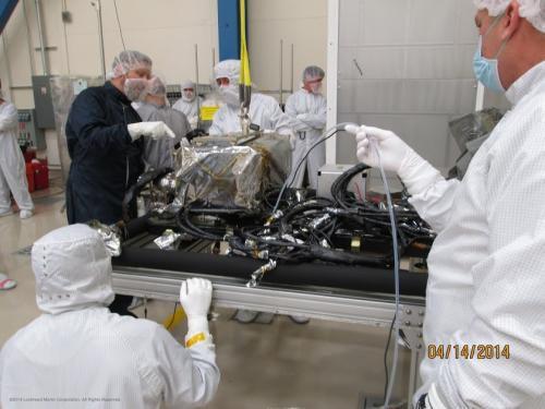 Два прибора спутника GOES-R установлены на аппарат
