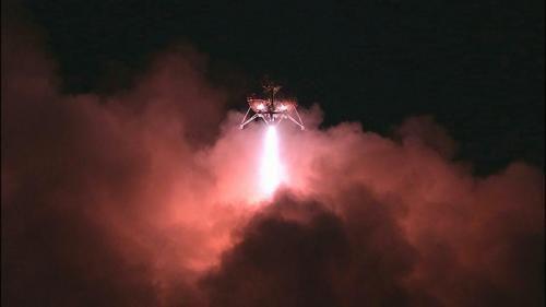 Посадочный модуль Morpheus смог совершить посадку в полной темноте