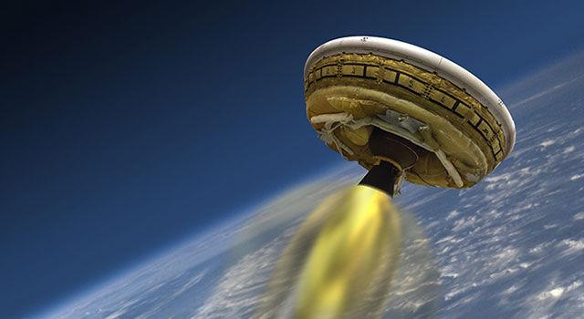 Испытания аппарата LDSD переносятся с 3 на 5 июня