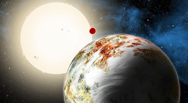 Загадочная скалистая планета Kepler-10c бросает вызов астрономам