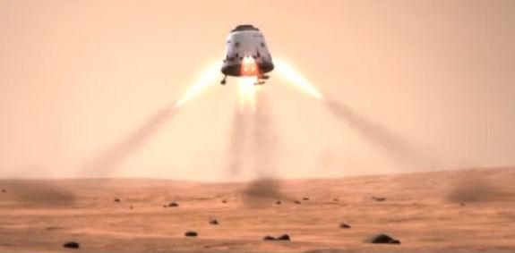 Компания SpaceX представляет концепт пилотируемого аппарата Dragon V2 - видео