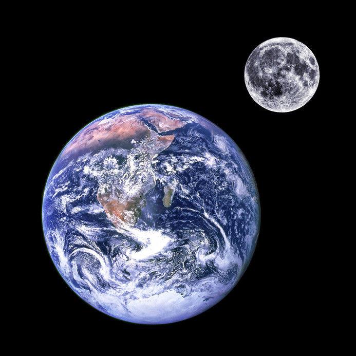 Ученые установили, что Земля и Луна на 60 миллионов лет старше, чем считалось