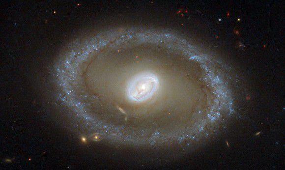 Новый снимок космического телескопа Hubble: галактика NGC 3081