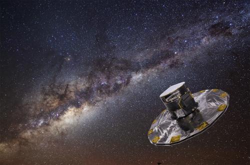 Телескоп Gaia столкнулся с проблемой «блуждающего света» в самом начале работы