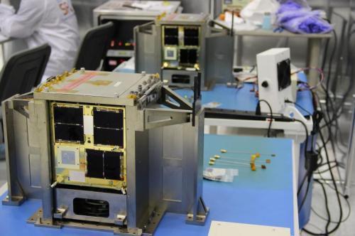 Сегодня был совершен запуск двух канадских нано-спутников