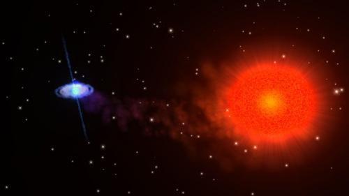 Нейтронная звезда в двойной системе не вписывается в существующие теории
