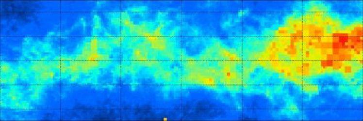 Трехмерная карта показывает пыльную структуру Млечного Пути