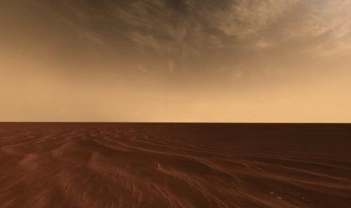 Открыт новый тип пыли в атмосфере Марса