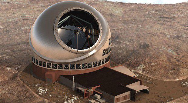 Решается вопрос о строительстве Тридцатиметрового Телескопа на вулкане Мауна-Кеа
