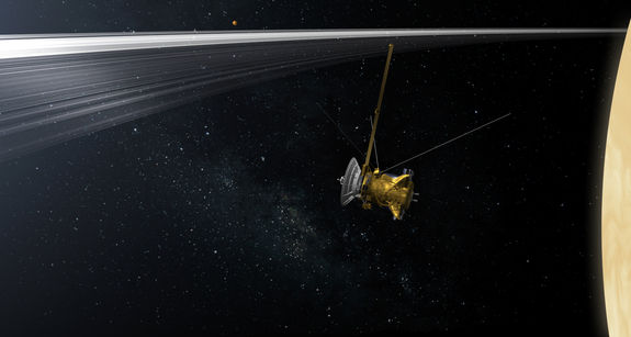 NASA выбрало название последней фазы миссии Cassini