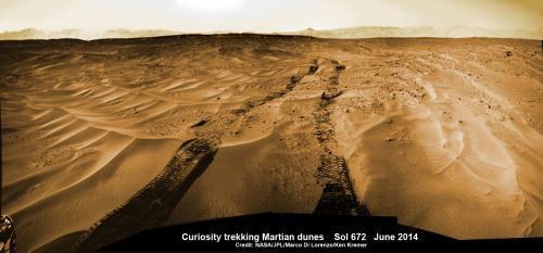 Curiosity преодолел границы