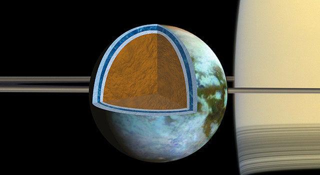 Океан Титана может быть таким же соленым, как Мертвое Море Земли