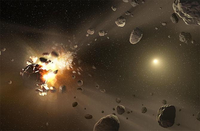Уникальный метеорит, скорее всего, произошел от давно не существующего астероида