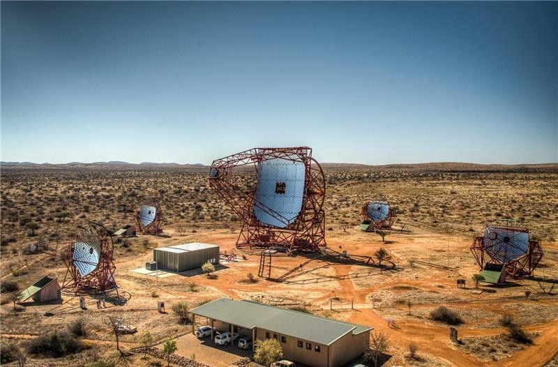 Система High Energy Stereoscopic System  обнаружила свой первый пульсар