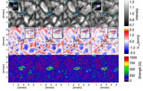 Прибор IMaX показал, как рождаются и эволюционируют магнитные структуры в Солнце