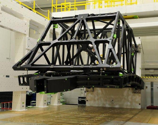 Завершено тестирование панели космического телескопа Джеймса Вебба