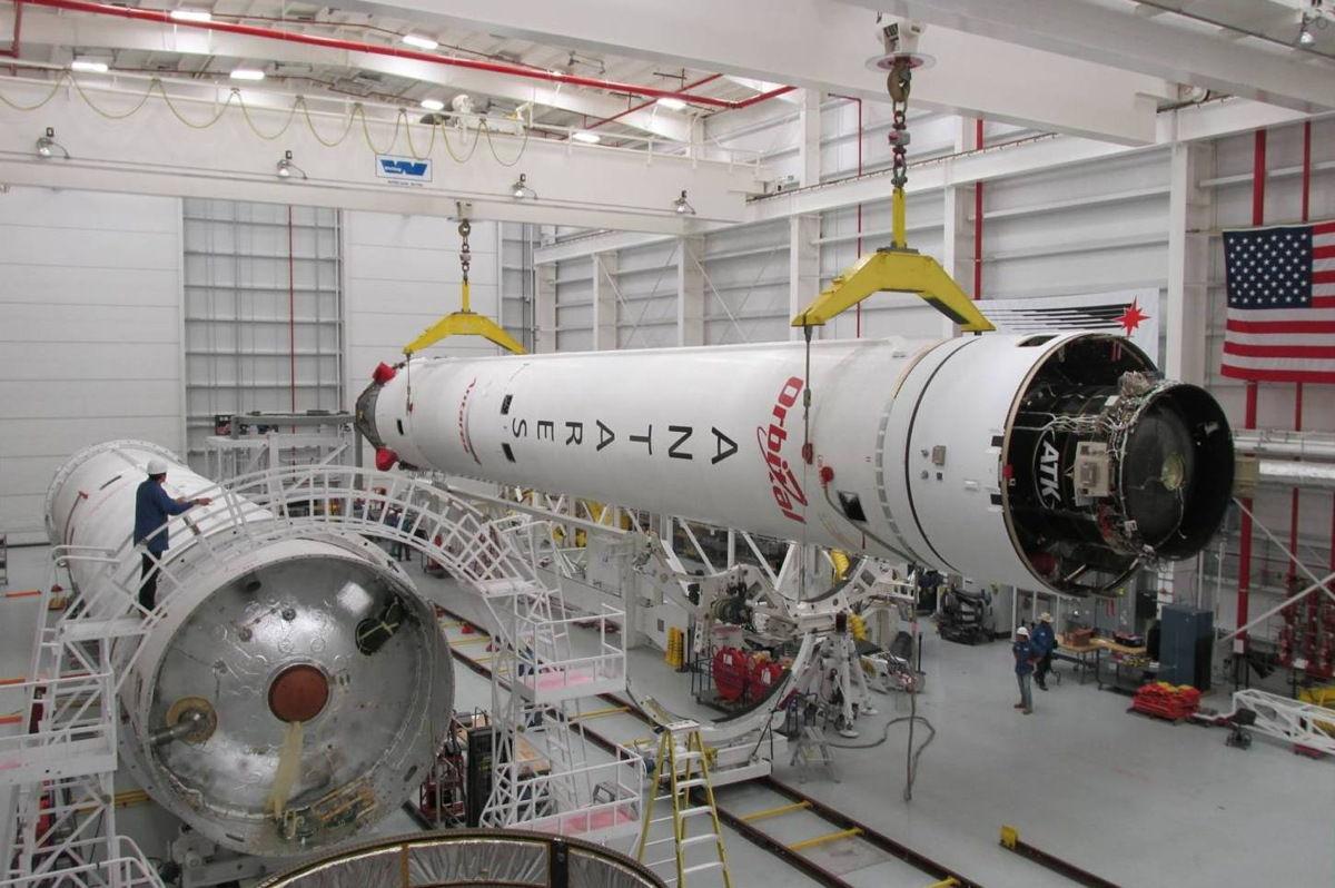 Сегодня должен состояться запуск космического грузовика Cygnus к МКС
