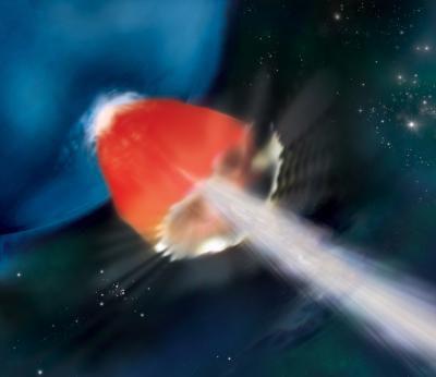 Ученые проанализировали ультра-долгий гамма-всплеск GRB 130925A