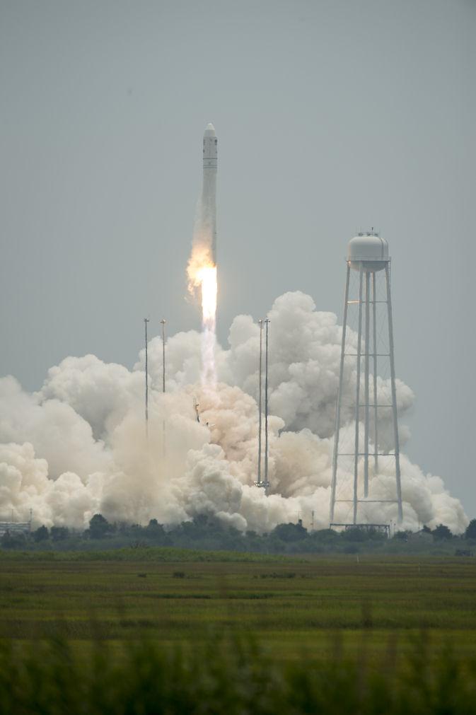 Состоялся успешный запуск космического грузовика Cygnus к МКС