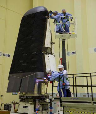 Космолет ESA готовится к запуску