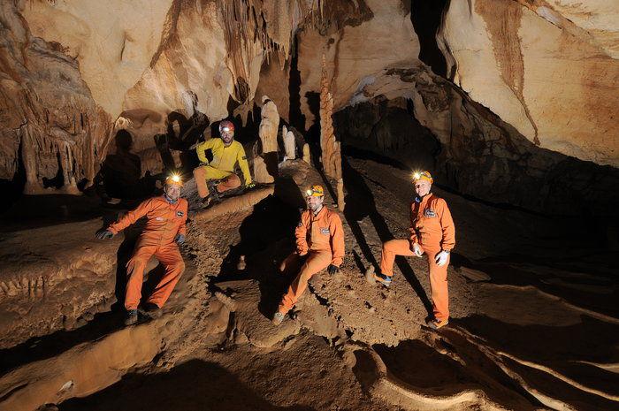 Астронавты пройдут подготовку к космическим миссиям в пещерах Сардинии