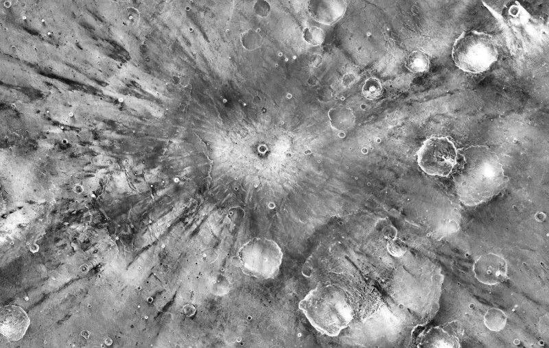 Ученые создали самую четкую карту поверхности Марса
